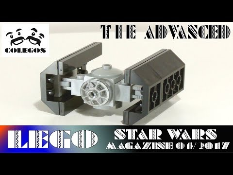 Lego Star Wars Magazine 04/17 TIE Advanced - Lego Speed Build