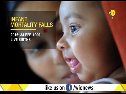 Survey shows India's infant mortality rate falls