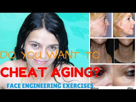 How to tone facial muscles | The Face Engineering Exercises System | Face firming exercises