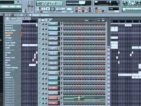 Hip Hop Beat in Fl studio 8 (Free Download)