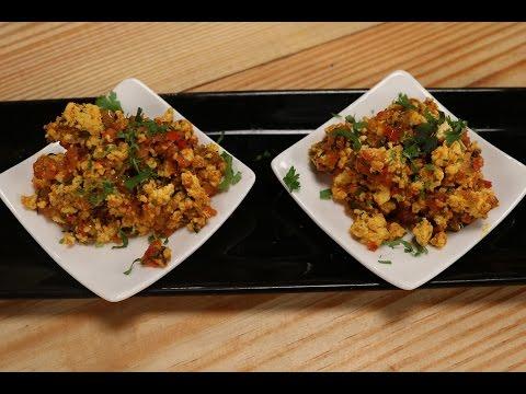 Paneer Bhurji | 5 Best Paneer Recipes  | Sanjeev Kapoor Khazana