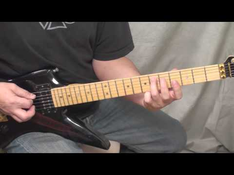 Dimebag's - 'Primal Concrete Sledge' (Middle Section) - The Lesson! **Watch in 720p**