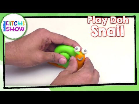 Cay Modeling for Children Easy Animals | Learn Making of Simple Snail | Play Doh Videos for kids