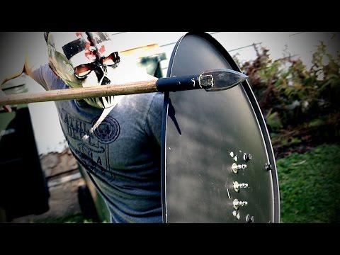 BUILD CHALLENGE: Satellite Dish SPIKED SHIELD!