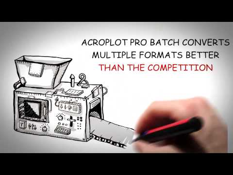 AcroPlot AutoCAD DWG to PDF Converter Program Overview