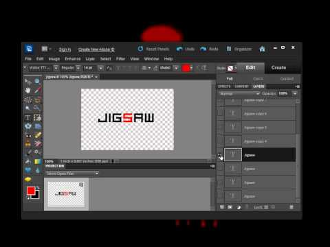 How to create animated text in Photoshop Elements 10