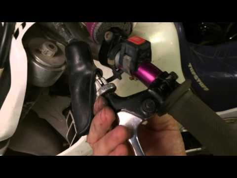 How To Replace A Motorcycle Clutch Lever