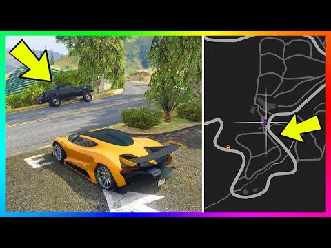 You WON'T Believe What These NPC Drivers Do On This Road In GTA Online!