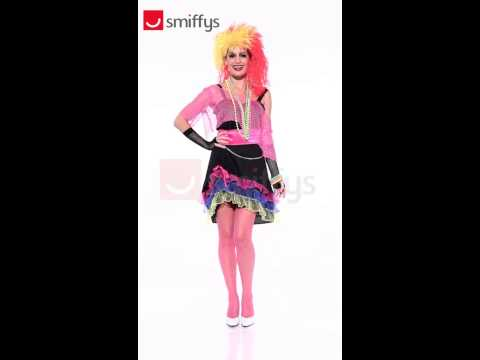 80's Fun Girl Costume - Karnival Costumes TV