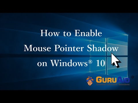 How to Enable Mouse Pointer Shadow on Windows® 10 - GuruAid