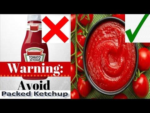 Danger to Buy Tomato Ketchup || How to Make Tomato Ketchup Sauce at Home