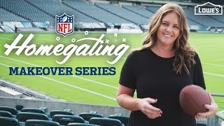 Download NEW SERIES /// NFL Homegating Makeovers Video