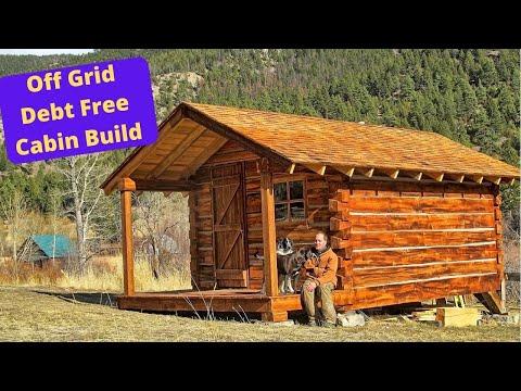 Log cabin build HD