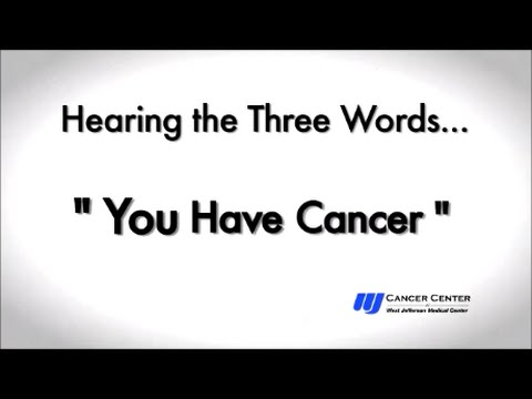 The Three Words - Stories of Hope From Patients Receiving Cancer Treatment at WJMC in New Orleans