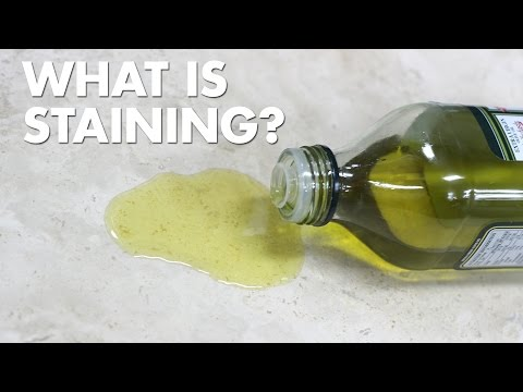 Porous Materials - Common Problems: Staining