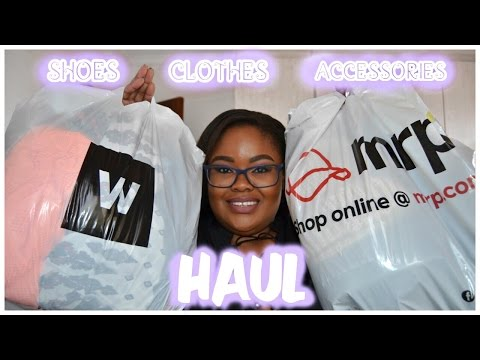 PLUS SIZE TRY-ON HAUL - Shoes, Clothes & Accessories ♡Nicole Khumalo♡ South African Youtuber