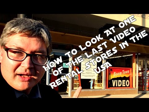 How To Look At One Of The Last Video Rental Stores In The USA