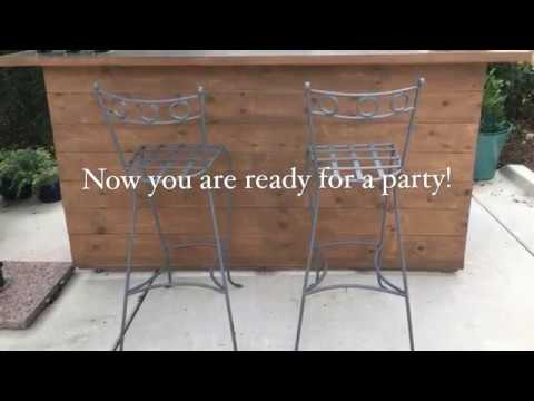 How to make a pallet bar