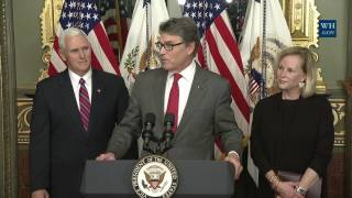 Swearing-in Ceremony for Department of Energy Secretary Rick Perry