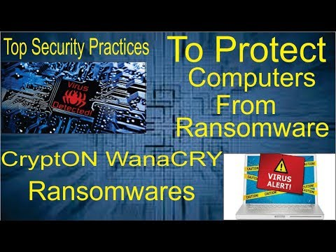 How To Protect Your PC From Ransomware Virus | My Pc Infected With CryptON Ransomware