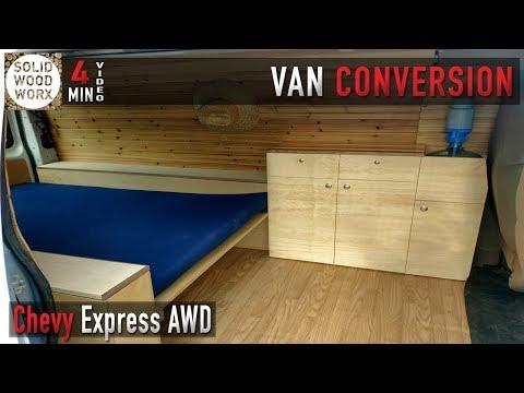 Van Converison Kitchen Cabinet