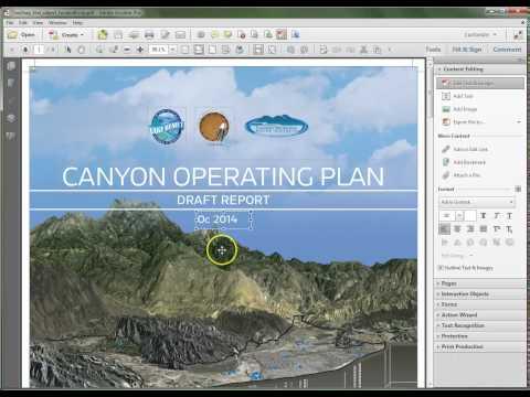 Adobe Acrobat XI: Edit Existing Document Text