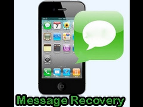 How to retrieve deleted text messages from iPhone 6/5S/5C/5/4S/4/3GS
