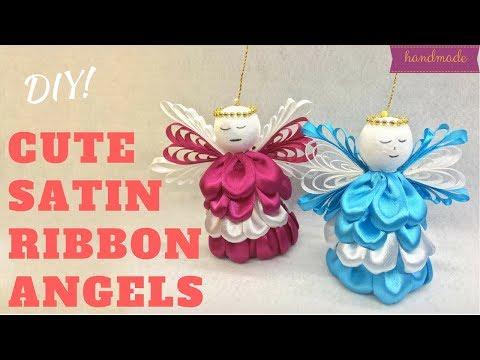D.I.Y. Cute Satin Ribbon Angels | MyInDulzens