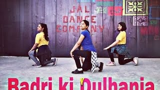 Best Badri ki Dulhania Dance Choreography || JDC shubhangi singh  Varun, Alia,