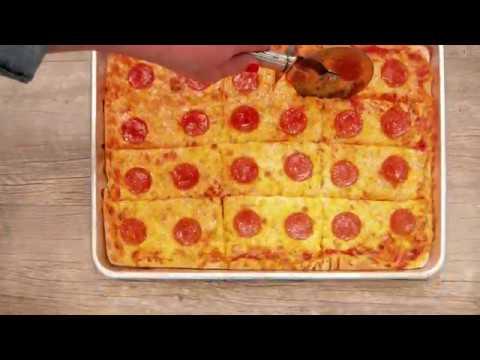 Bridgford® Foodservice Sheet Dough Pepperoni Pizza