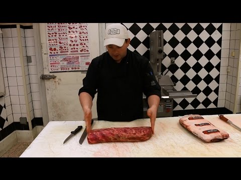 Buying Beef Whole Muscles - Striploin and Ribeye