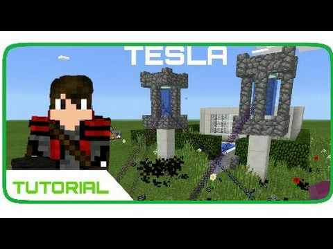 Minecraft Pocket Edition - How to Make Tesla (Tutorial)