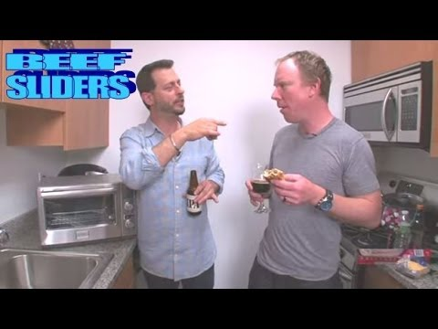 HOW TO MAKE BEEF SLIDERS IN A TOASTER OVEN: Big Meals Small Places with Sal and Richard