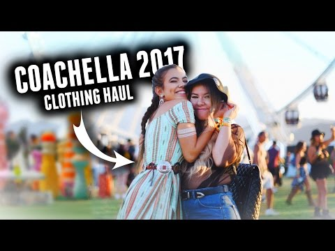 HUGE COACHELLA/SPRING CLOTHING HAUL! 2017