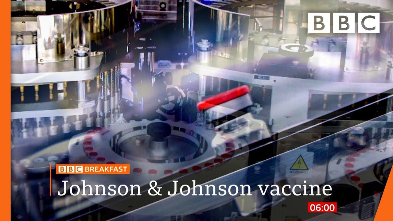 Johnson & Johnson covid vaccine paused over rare blood clots @BBC News live 🔴 BBC