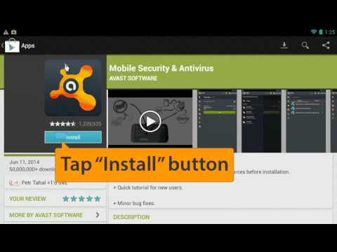 How to install Avast Free Mobile Security