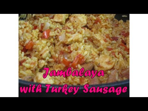 Jambalaya with Turkey Sausage