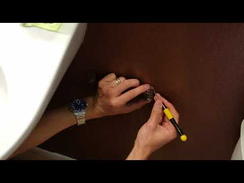 How To Remove Old Toilet Tissue Paper Holder & Towel Bar & Install New! 5 21 18