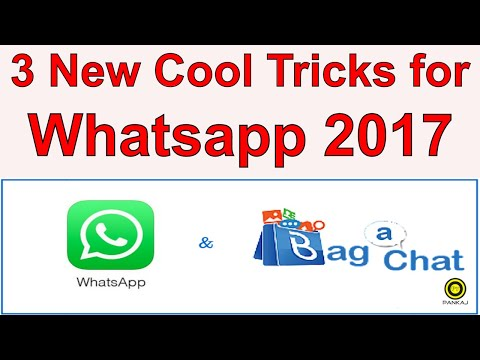 New WhatsApp Tricks and Hacks You Don't Know 2017 || 3 Cool Tricks