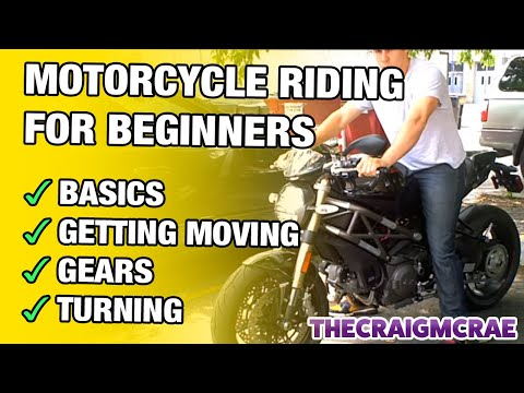 Motorcycle Riding for Beginners