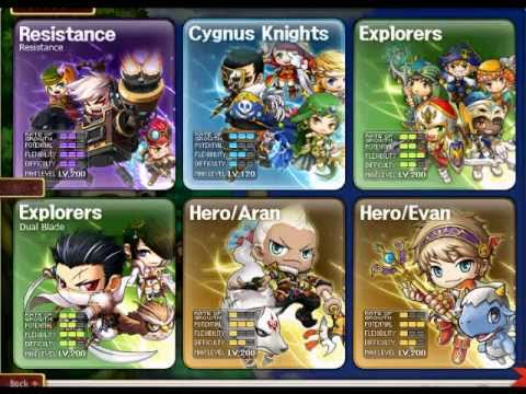Maplestory- How To Create A Character