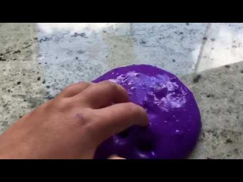 DIY slime without glue!!!! How to make clay slime!!!
