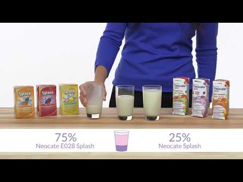 Nutricia's Guide to Transition to Neocate® Splash