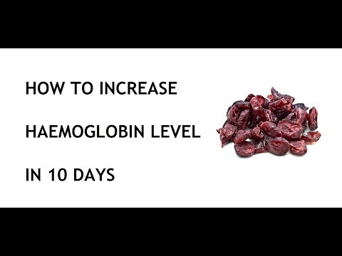 How to Increase Haemoglobin Level in 10 days