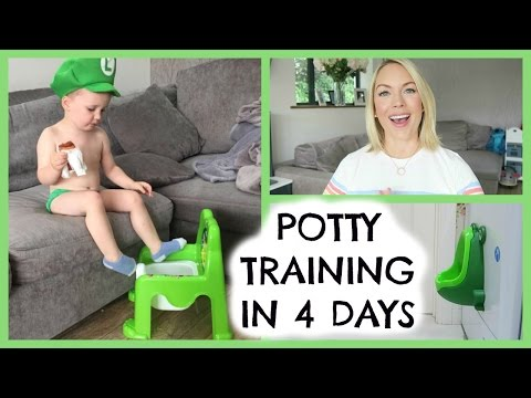 POTTY TRAINING TIPS |  POTTY TRAINING IN 4 DAYS