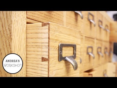 Hand Cut Half Blind Dovetails - How to