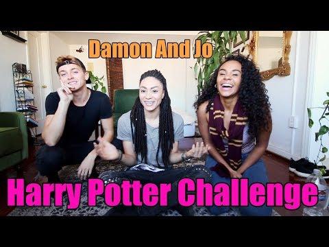 Harry Potter Challenge W/ Damon & Jo