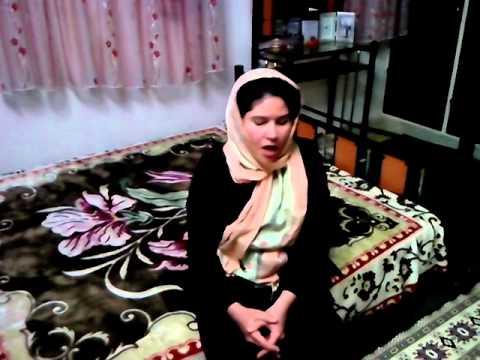 A persian girl sings Hayedeh's bahar song ترانه بهار هایده با صدای بانوی خوش صدای ایرانی