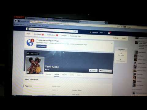 How to change any facebook page with more than 200 likes 2015