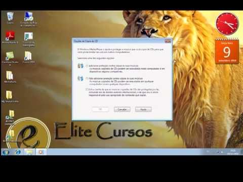 Converter Cd de Audio em mp3 - media player - www.elitecurso.com.br